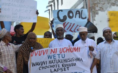 Anti-Coal campaign in Lamu