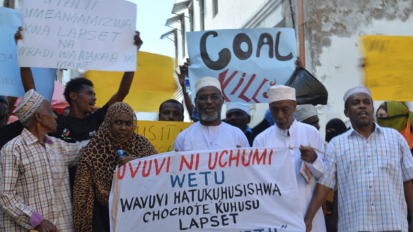 Anti-Coal campaign in Lamu