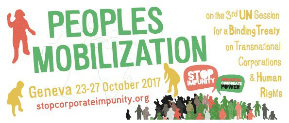 Global Campaign on People's Power to Stop Corporate Impunity