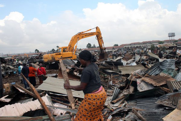 Forced eviction and demolitions a trend?
